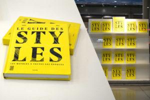 Guide des styles, couverture et librairie du Centre Gorges Pompidou
