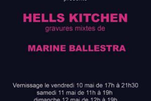 """""""Hells Kitchen"""" Marine Ballestra"""