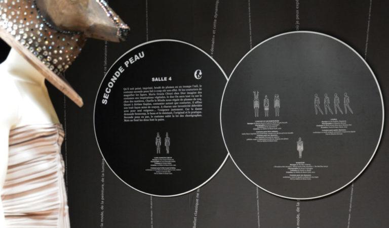 Couturiers de la Danse, cartel salle 4, seconde peau