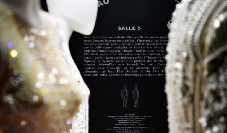 Couturiers de la Danse, cartel salle 5, seconde peau