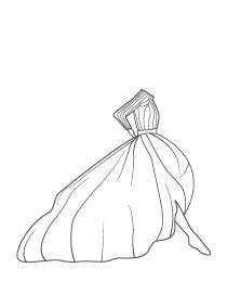 """""""Rythme de valses"""" d'après les costumes de Hervé L. Leroux."""
