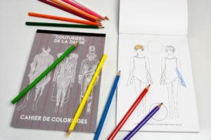 Couturiers de la Danse cahier de coloriage