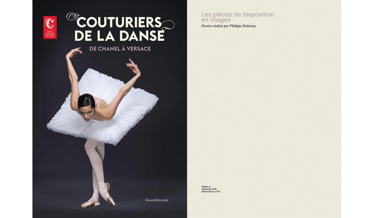 Catalogue Couturiers de la danse édition SilvanaEditorale