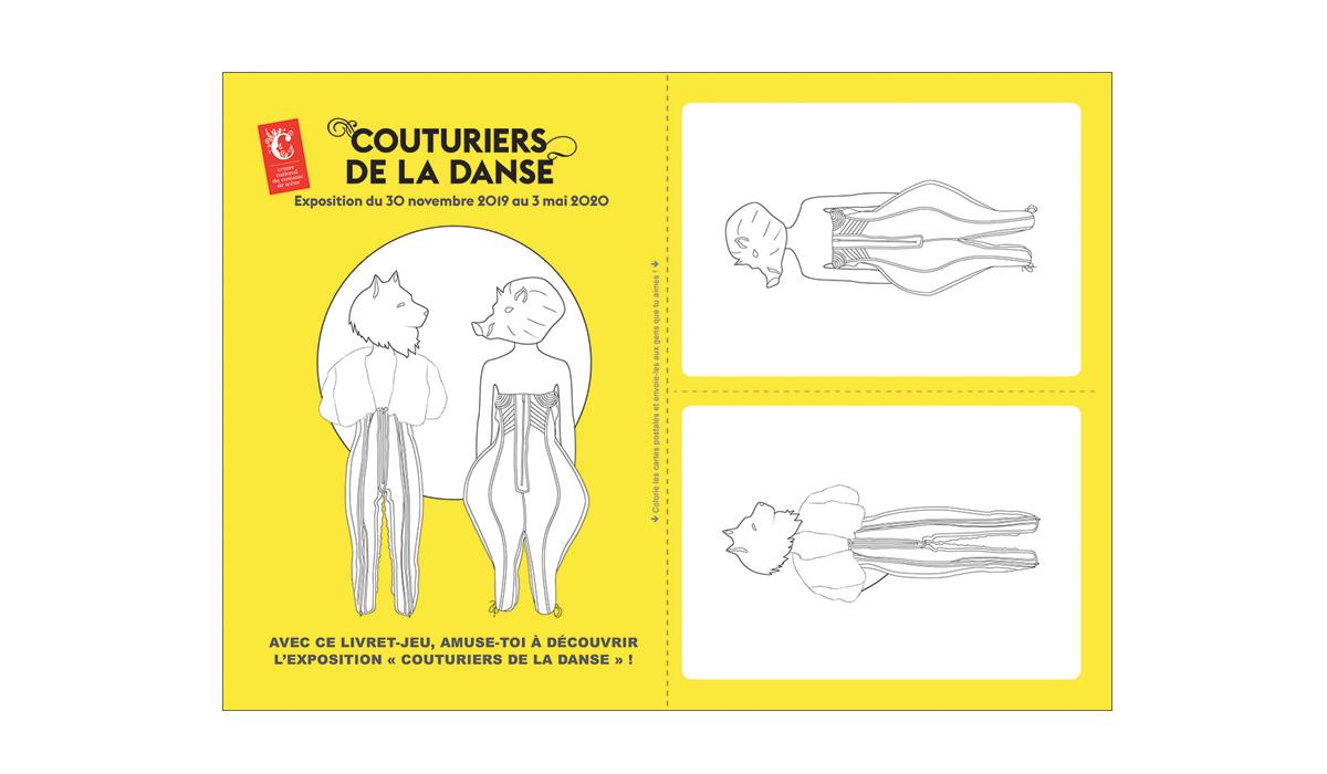 Cahier pédagogique, Couturiers de la Danse,couverture