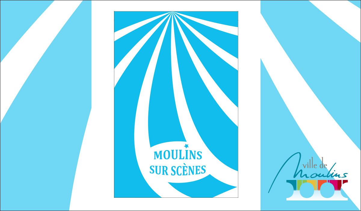Kakemono Moulins sur scènes