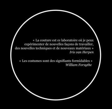 Citations : Iris van Herpen,William Forsythe