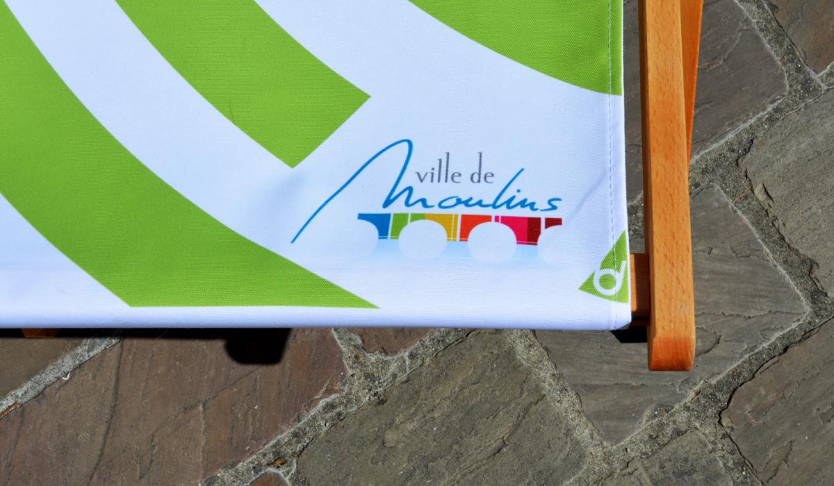 Ville de Moulins signature