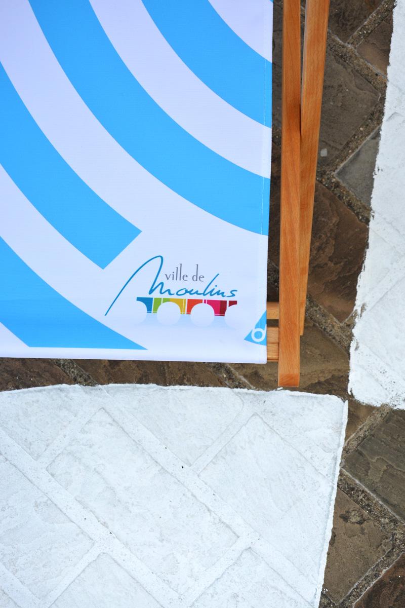 Pied de transat et tapis sol