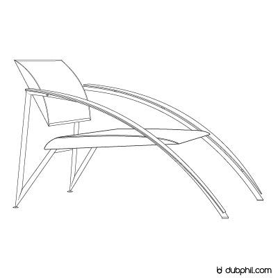 Postmodernisme, la chaise longue de Jean Louis Godivier