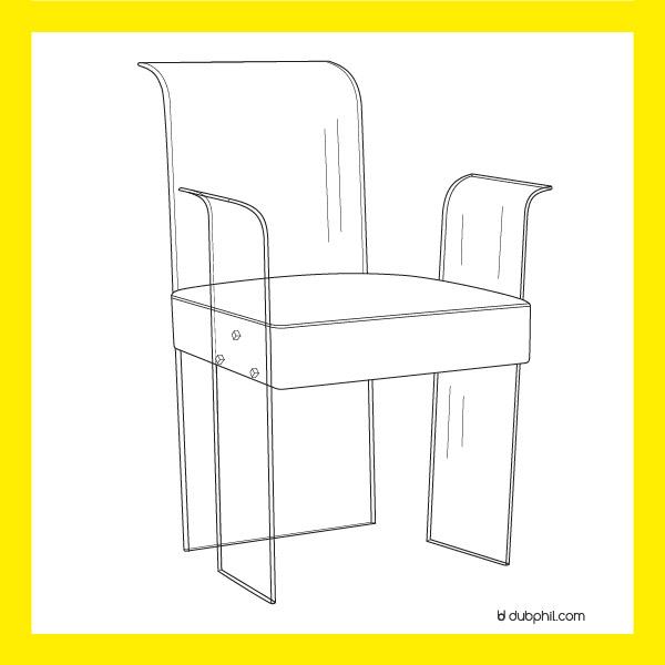 Epoque Morderne, Le fauteuil de René Coulon