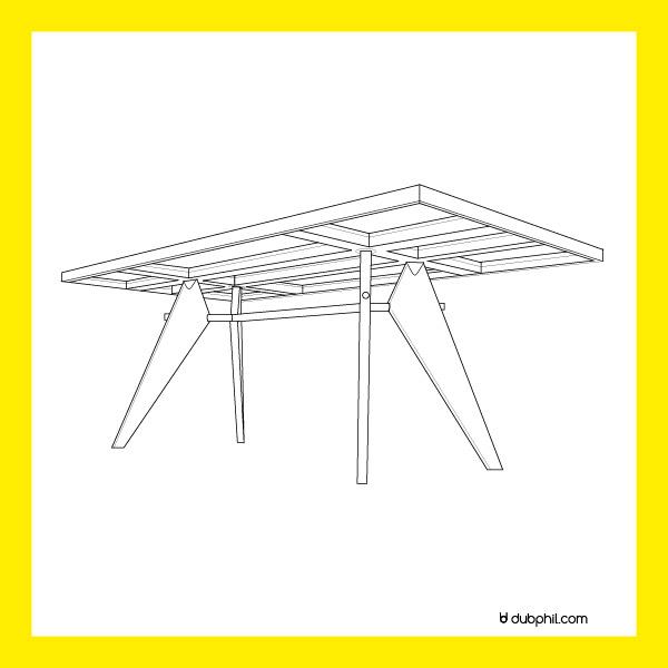 La table de Jan Prouvé