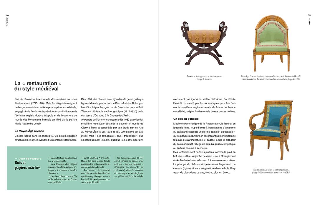 Texte, encadré et photographies p 201 et 202