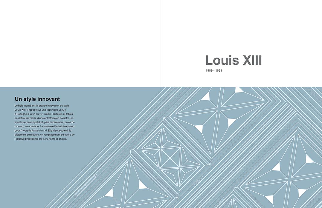 "Page de garde "" LOUIS XIII """