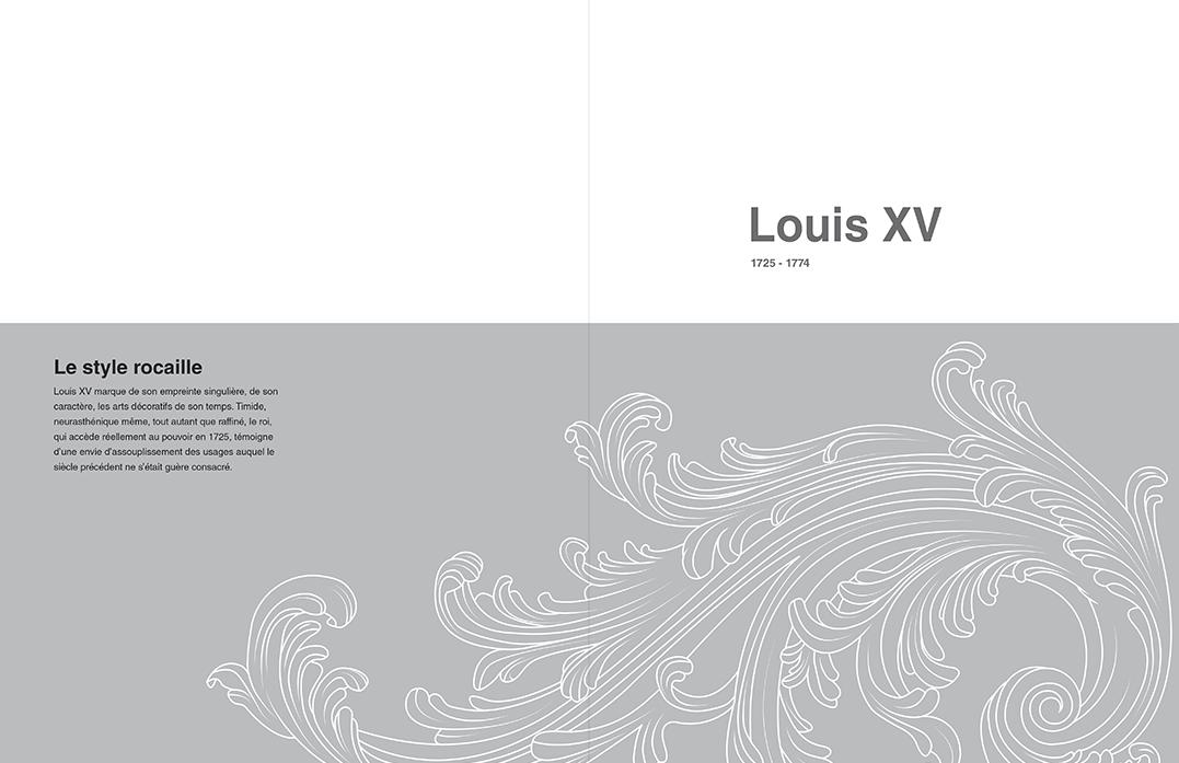 """Page de garde """" LOUIS XV """""""