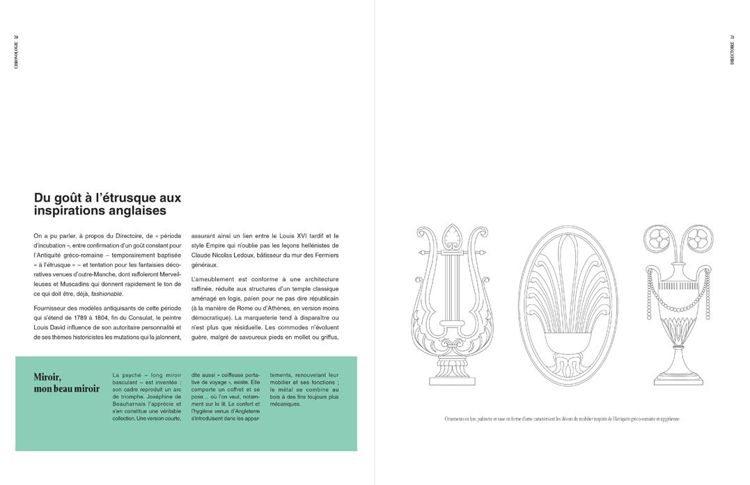 Texte, encadré, dessins aux traits, p 70 et 71