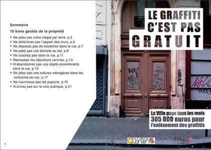 Le graffiti c'est pas gratuit