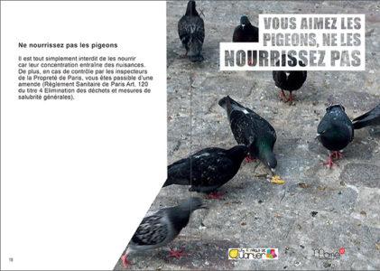 Vous amiez les pigeons, ne les nourrissez pas