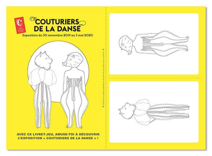 Cahier pédagogique, CNCS dubphilCouturiers de la Danse,couverture