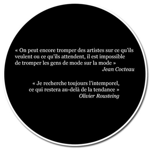 Citations : Jean Cocteau, Olivier Roustein,